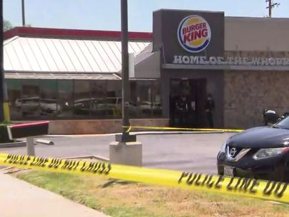 Customer critically injures suspect who stabbed Burger King diner