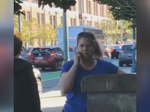 VIDEO: 'Permit Patty' calls cops on girl selling water