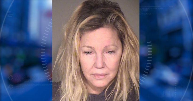 Heather Locklear arrested again after alleged battery of police officer