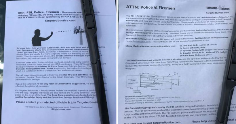 Sergeant treated after touching Fentanyl-contaminated flyer