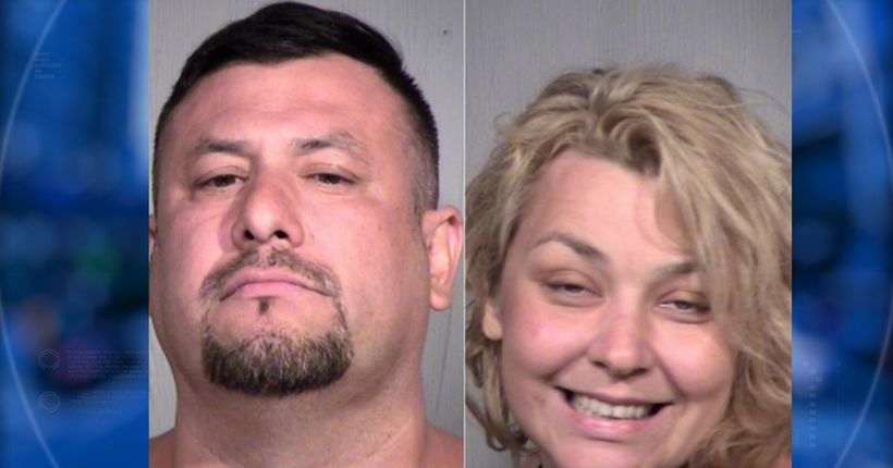 Couple accused of engaging in sex act at campground