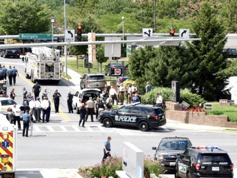 5 dead, 2 injured in shooting at newspaper near D.C.