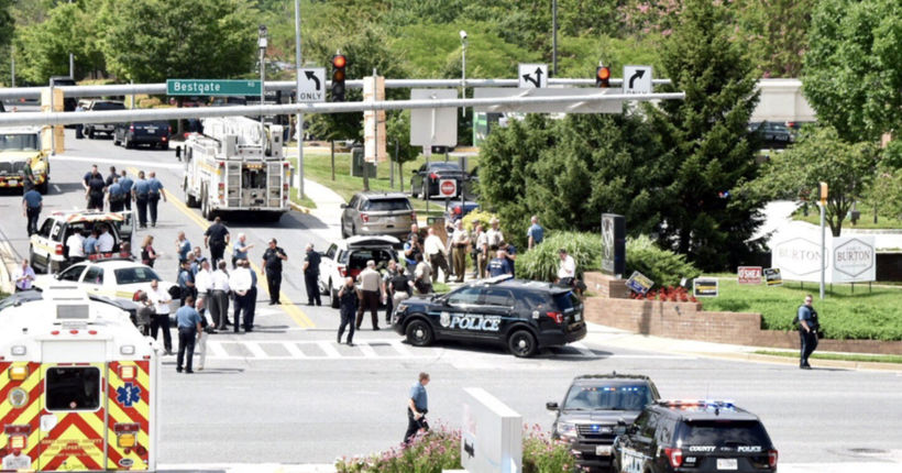5 dead, 2 injured in shooting at Capital Gazette newspaper in Annapolis