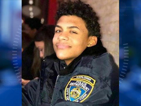 NYPD comments on 'review' of officers' actions as teen died