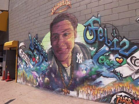2nd mural honoring slain teen is painted in the Bronx
