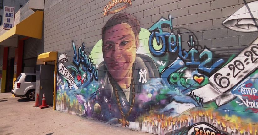 2nd mural honoring slain 15-year-old is painted in the Bronx
