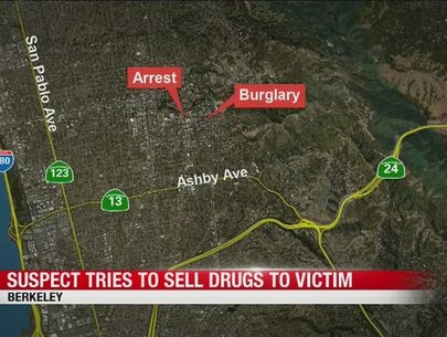Alleged Berkeley burglar offers to sell his victim cocaine