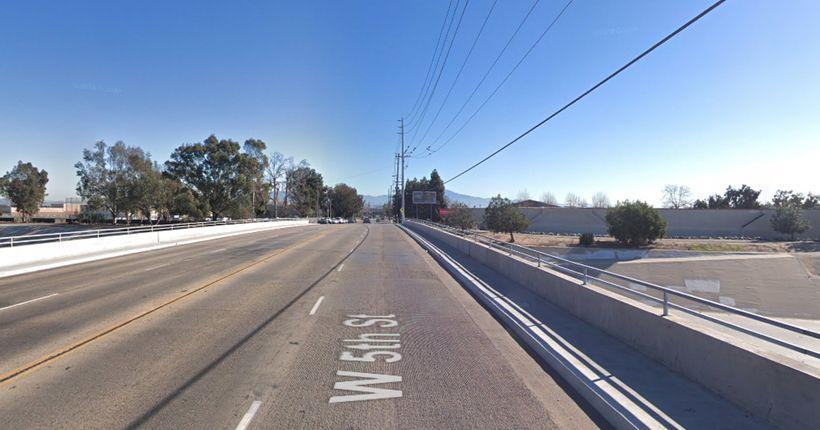 Man found shot dead in vehicle after striking bicyclist in Santa Ana