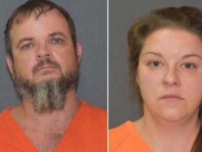 Dad, girlfriend allegedly hog-tied, used shock collars on son