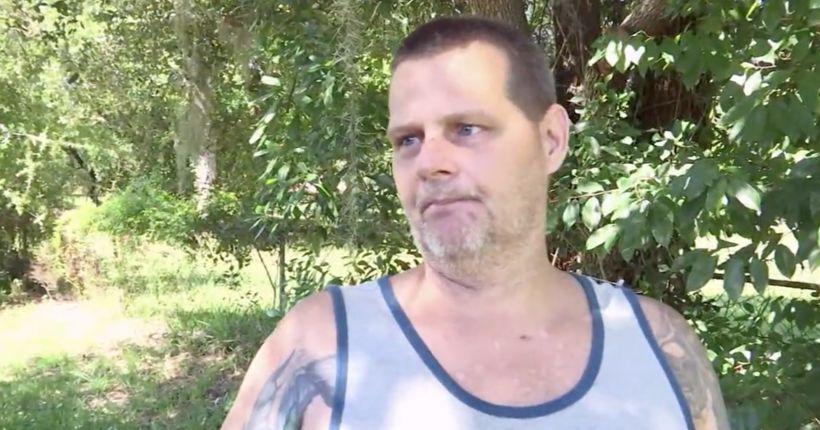 Man gouges eyes of armed home intruder