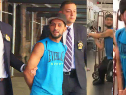 Man accused of fracturing subway rider's skull with pipe now in custody