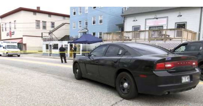Maine woman stabbed at laundromat in front of kids dies