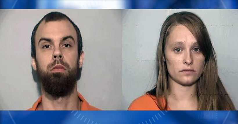 'I think she broke her neck': Pair arrested providing care for infant