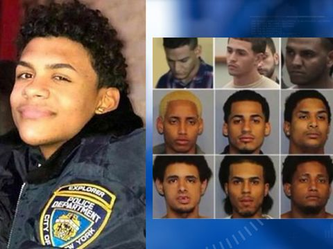 Watch: 12 suspects in 'Junior' killing appear in court