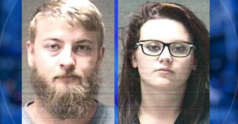 Parents arrested after toddlers found along train tracks in only diapers