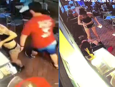 WATCH: Waitress body-slams customer after he gropes her