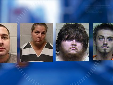 Four arrested after 15-year-old boy found starving at home