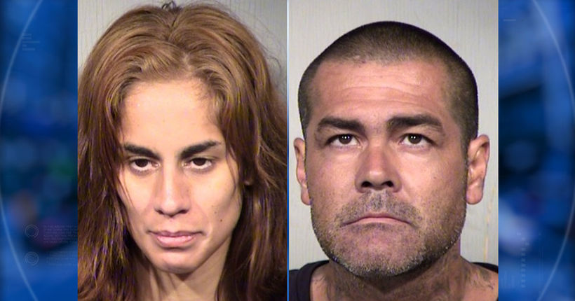 3 Phoenix sibling toddlers test positive for meth; parents arrested