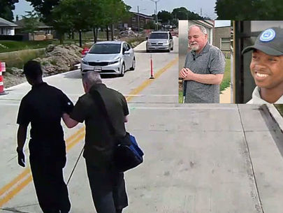 Milwaukee bus driver helps blind man when construction changes his route