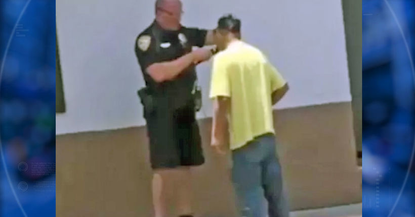Officer shaves homeless man's beard to help him get hired