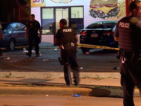 7 people shot outside bar following music video shoot