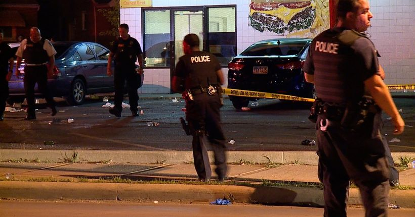 7 people shot outside bar following music video shoot for rapper Q Money