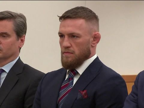 Conor McGregor pleads guilty in caught-on-camera altercation