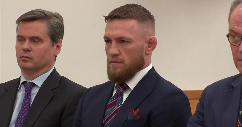 MMA star Conor McGregor pleads guilty in caught-on-camera altercation