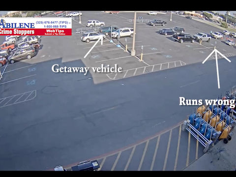 WATCH: Thief steals power-tool kit, forgets where he parked getaway car
