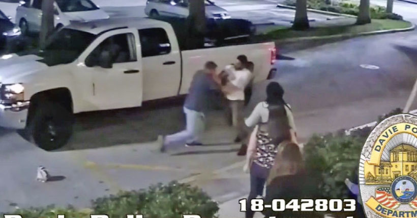 Angry ex-boyfriend crashes Florida birthday party, brawl ensues
