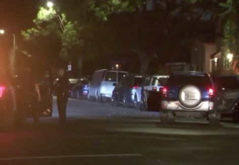 Manhunt underway for suspected carjacker involved in shootout with officers in South L.A.