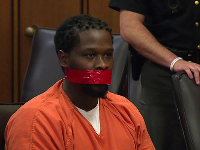 Judge speaks out after ordering man's mouth taped shut during sentencing
