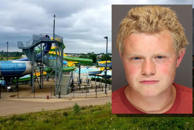 8-year-old boy thrown from waterslide, falls 32 feet to concrete