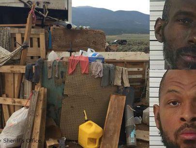 Eleven children found in 'makeshift compound' taken into custody