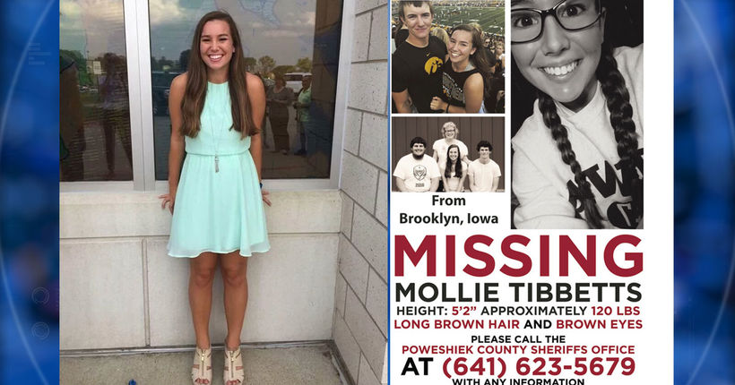 Mollie Tibbetts reward reaches $260K, tip line promises anonymity