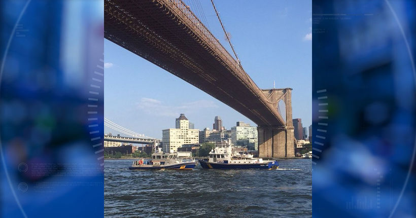 Baby dies after tourist pulls him from water under Brooklyn Bridge