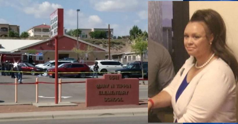 Mother killed, 3 kids struck by car in school parking lot