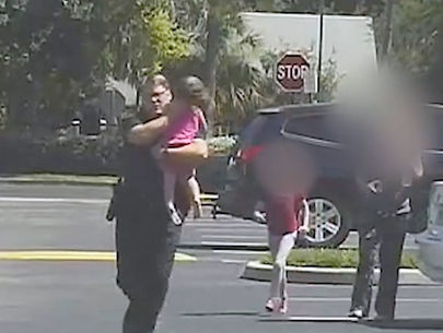 Dramatic video shows Florida deputy rescuing 3-year-old girl from hot car