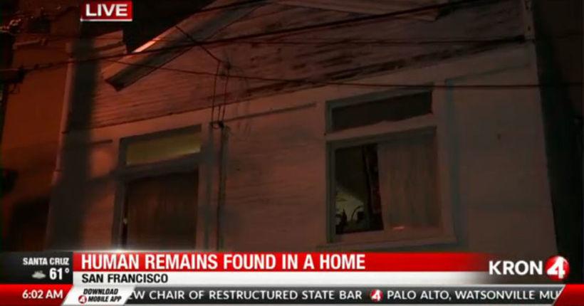 Headless torso found in fish tank in San Francisco home