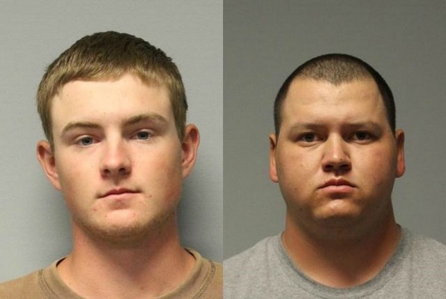 Two men arrested for abusing calf on camera in Arizona