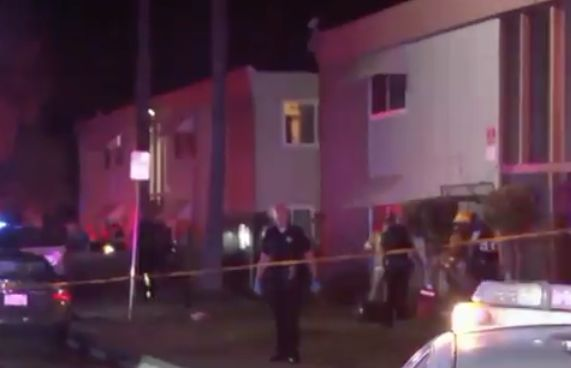 8 shot during dice game at San Bernardino apartment complex; 17-year-old in grave condition: Police