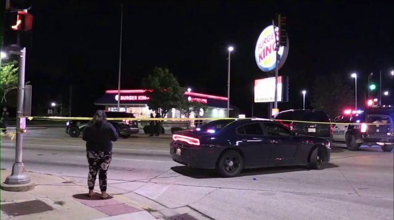Police-involved shooting reported at Maywood Burger King