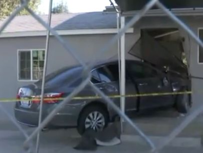 DUI suspect arrested after car plows into church building