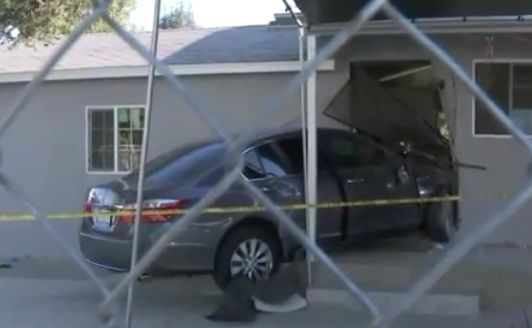 DUI suspect arrested after car plows into church building in Hacienda Heights