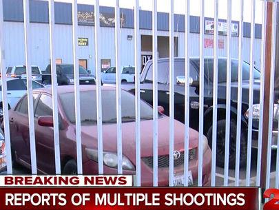 Gunman kills 5, including wife, carjacks woman and child before killing self