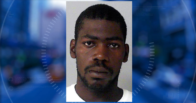 Burglary suspect arrested after shooting at officers from riding lawnmower