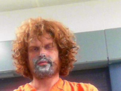 Man suspected of huffing paint arrested for beating mother with spatula