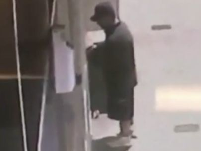 Police release video of man wanted in attacks on sleeping homeless people